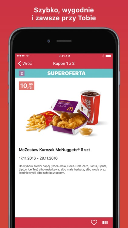 Kupony do McDonald's screenshot-1