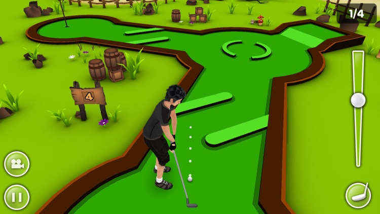 Mini Golf Game 3D Plus screenshot-0