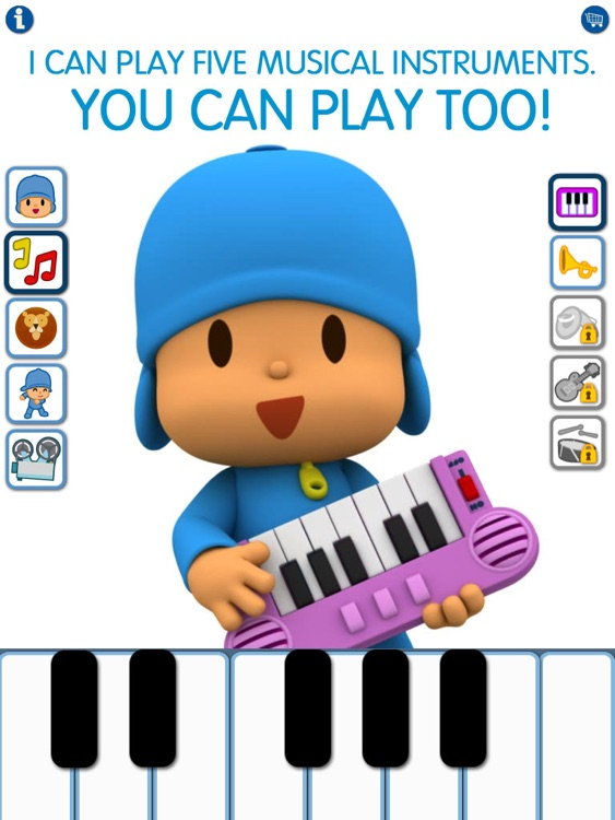 Talking Pocoyo HD Premium screenshot-3