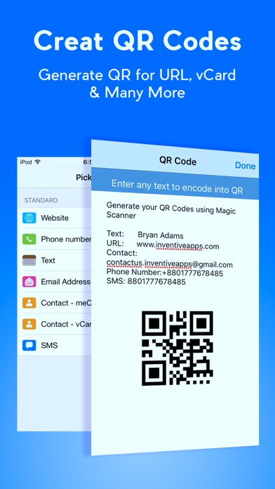 Screenshot #8 for QR Code Reader - QR Scanner & QR Code Generator