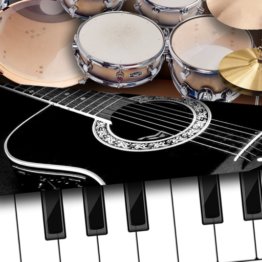 Band4U - Piano Guitar Drums - All in one