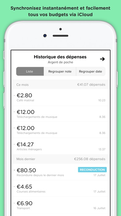 download Pennies – budget et dépenses apps 3