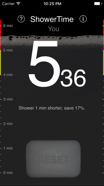 ShowerTime: save money, time and water