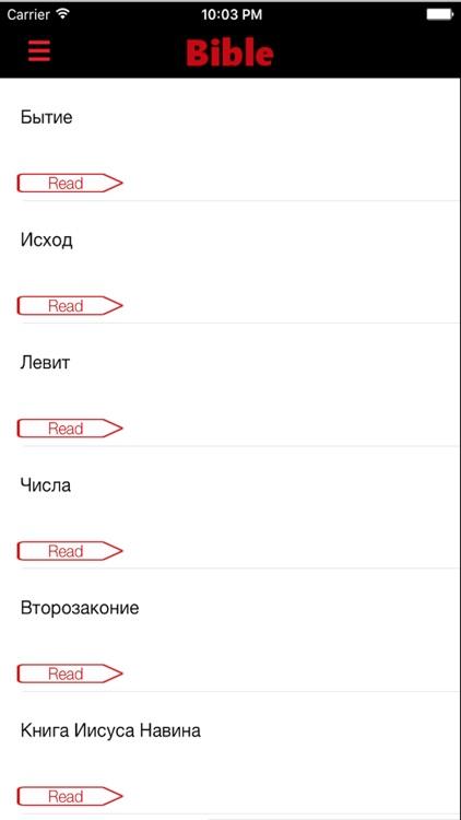 Russian Bible - Holy SYNOD Version screenshot-4
