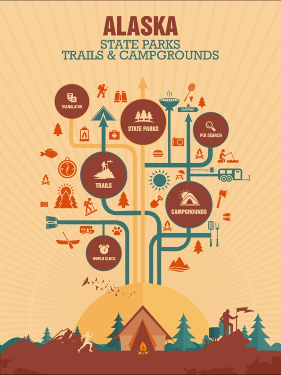 Alaska State Parks, Trails & Campgrounds-ipad-1