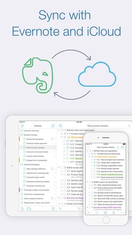Cloud Outliner Pro screenshot-4