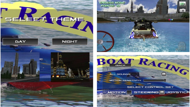 Boat Racing 3D Water Craft Race Game, game for IOS