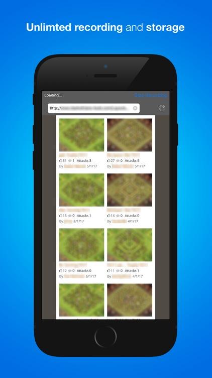 RecShare Browser recorder for games & websites Pro app image