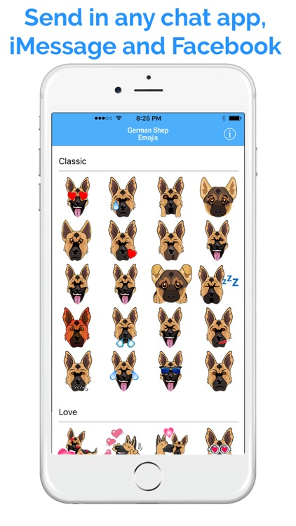 German Shep Emoji - GSD Emojis & Stickers screenshot-3