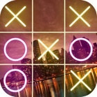 Tic Tac Toe Neon Game icon