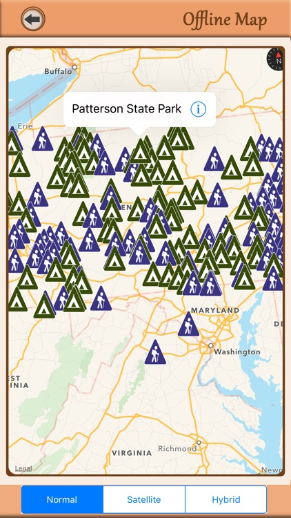 Pennsylvania Campgrounds & Hiking Trails Offline screenshot-4
