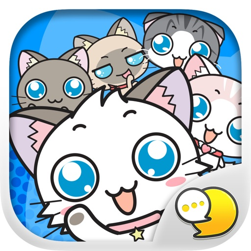 Meow Chat Collection Sticker Keyboard By ChatStick