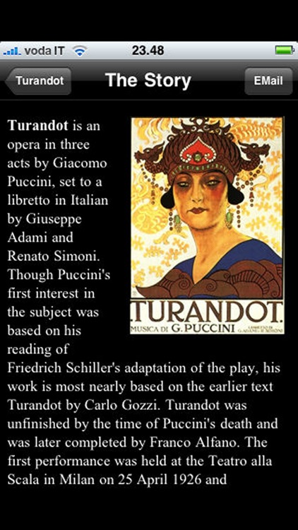 Opera: Turandot screenshot-2