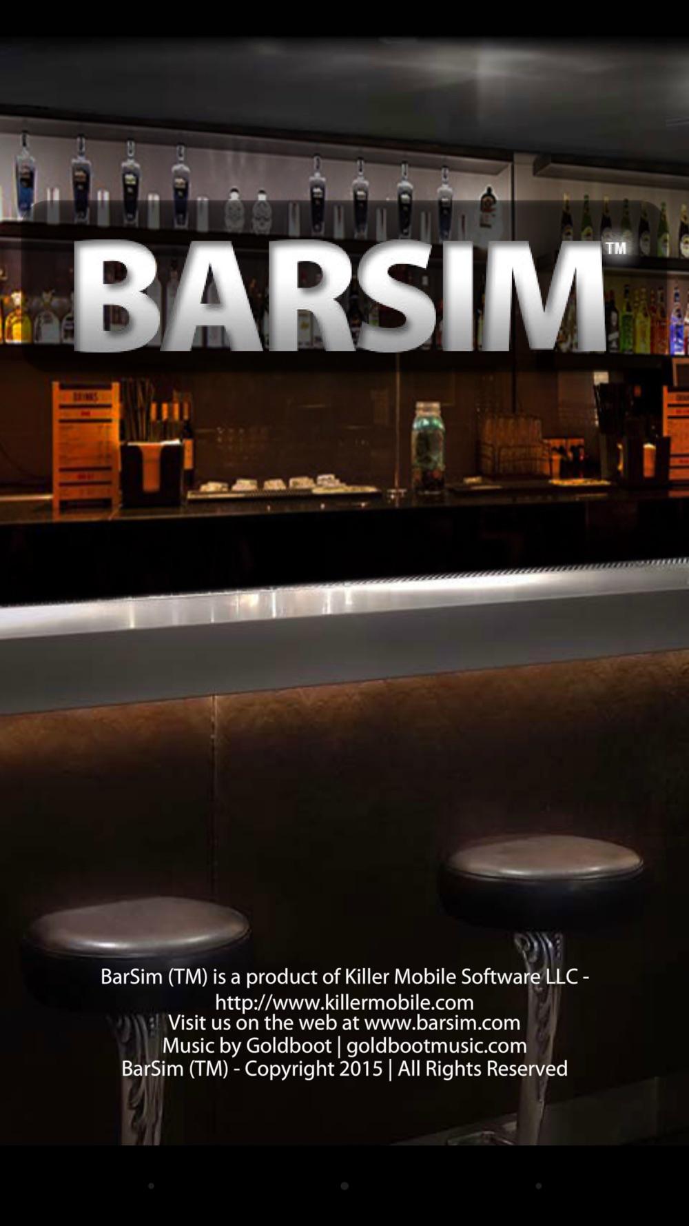 BarSim Bartender Throwdown