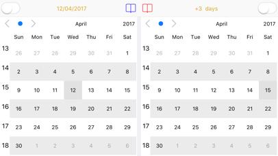Dual Calendar screenshot 3