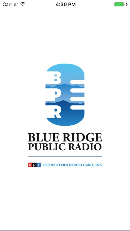 Blue Ridge Public Radio App