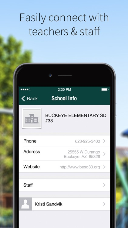Buckeye Elementary SD 33