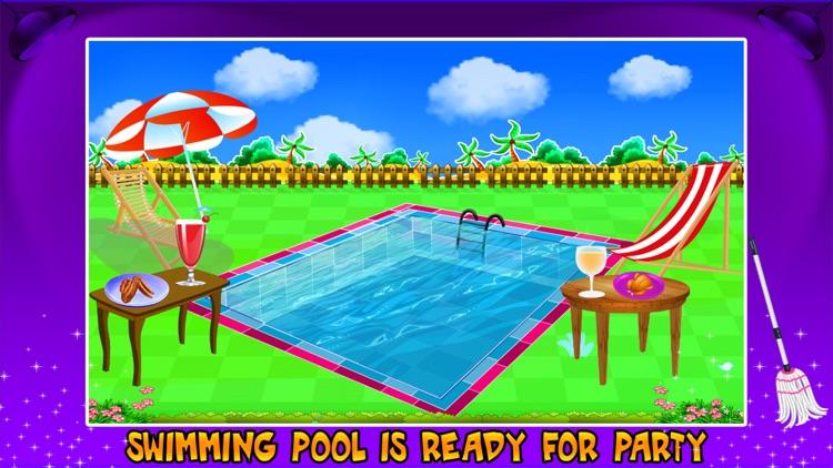 Swimming Pool Repair & Cleanup- Cleaning Game screenshot-3