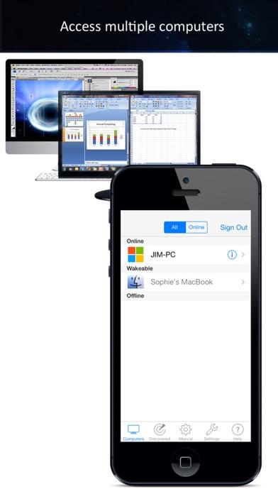 iTeleport リモートデスクトップのスクリーンショット5