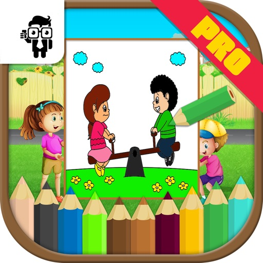Play Time Kids Coloring Book Pro