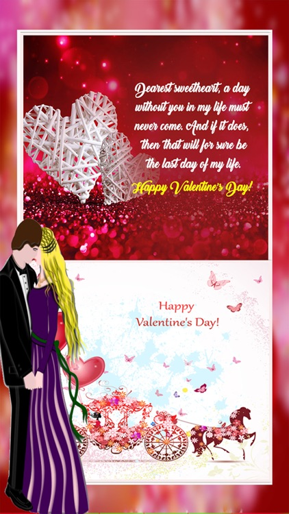 Valentine's Day Card Maker - Love Wishes,Quotes