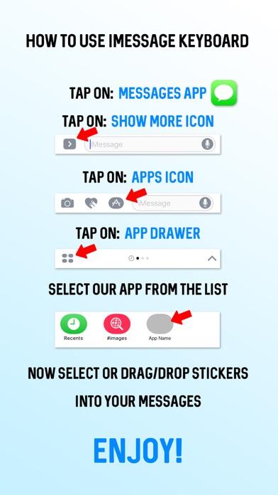 Brown White Cow Emoji Stickersのスクリーンショット2