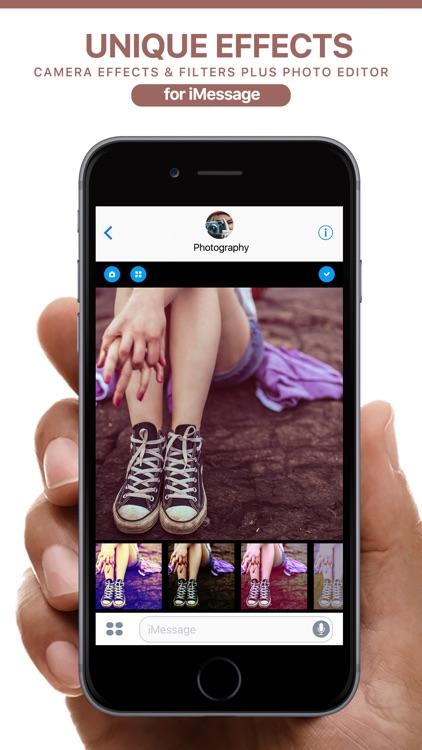 Analog Camera FX for iMessage screenshot-3