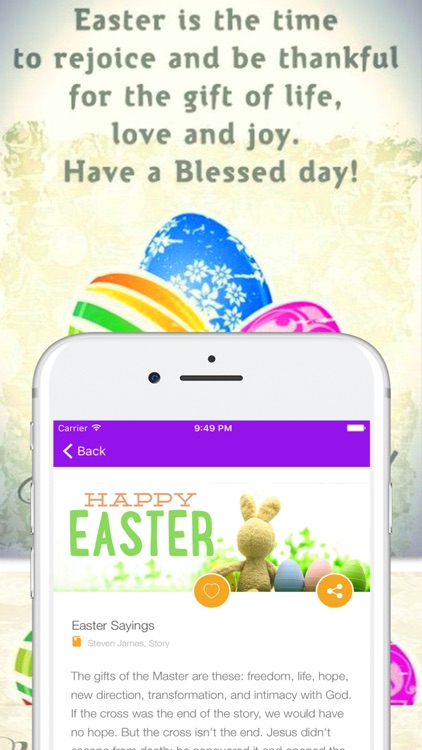 Easter Greetings Quotes Wishes Sayings & Messages screenshot-3