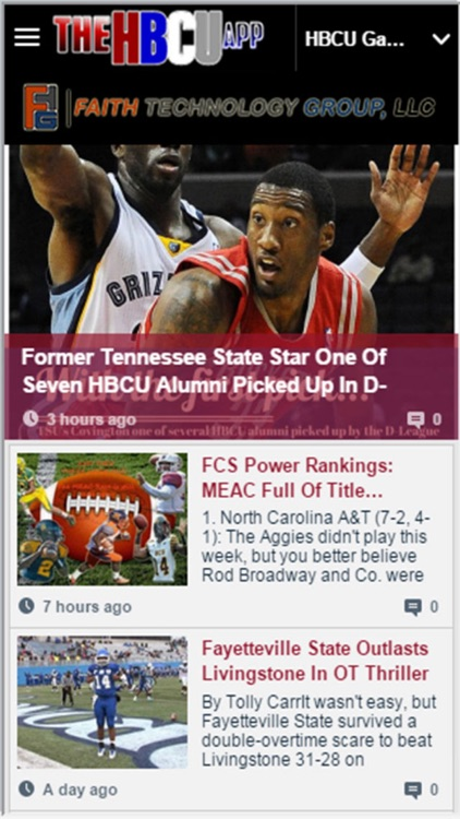 The HBCU App screenshot-1
