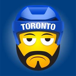 Toronto Hockey Stickers & Emojis