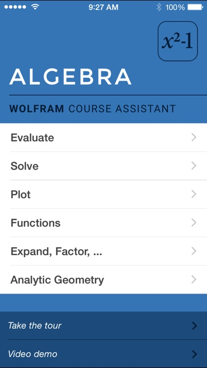 Wolfram Algebra Course Assistant screenshot-0