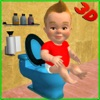 Baby Toilet Training Simulator 3D