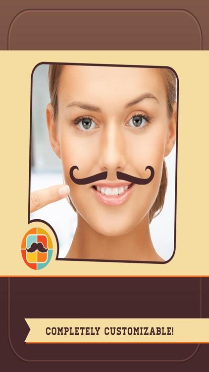 Mustache Face Facial Hair Beard & Photo FX Filter