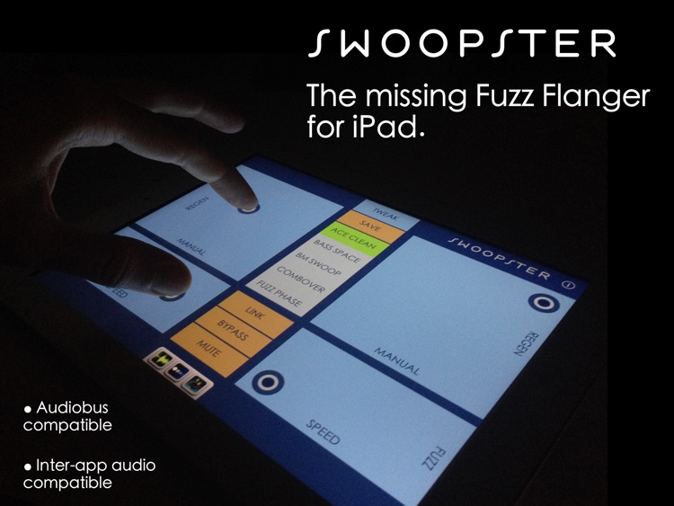 Swoopster - Fuzz Flanger Effects Processor screenshot-0