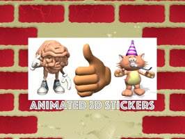 Animated Stickers from Animation Factory