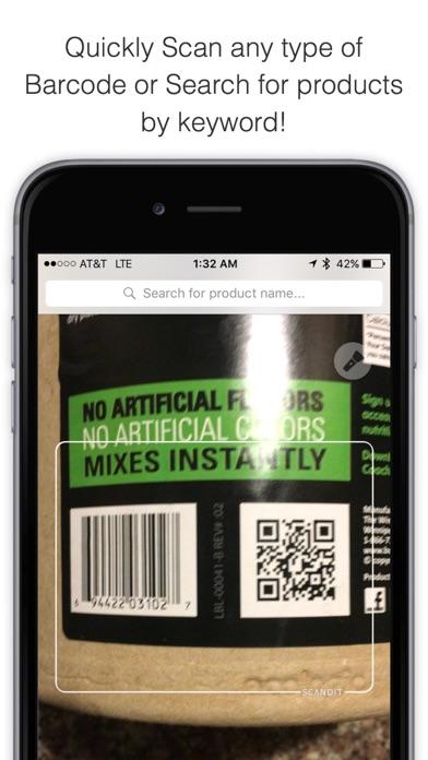 Bakodo Pro - Barcode Scanner & QR Code Reader Screenshot
