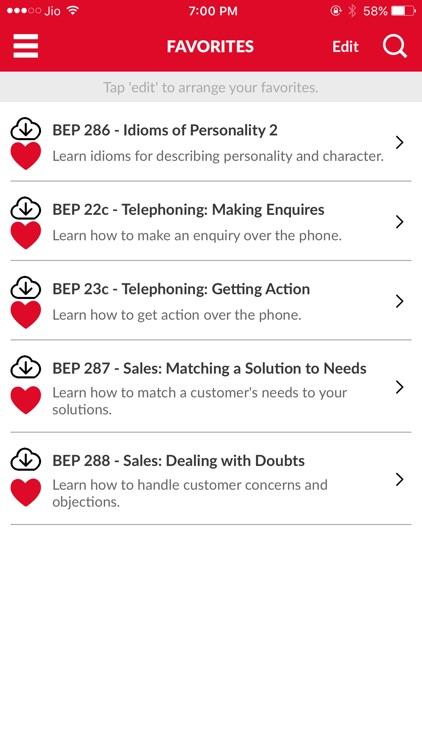 Business English App by Business English Pod screenshot-3