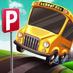 3D School Bus Parking Simulator Games PRO