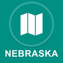 Nebraska, USA : Offline GPS Navigation