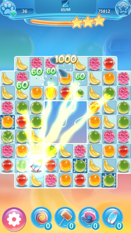 Super Icy Fruits Blast - Match 3 Puzzle Game screenshot-3