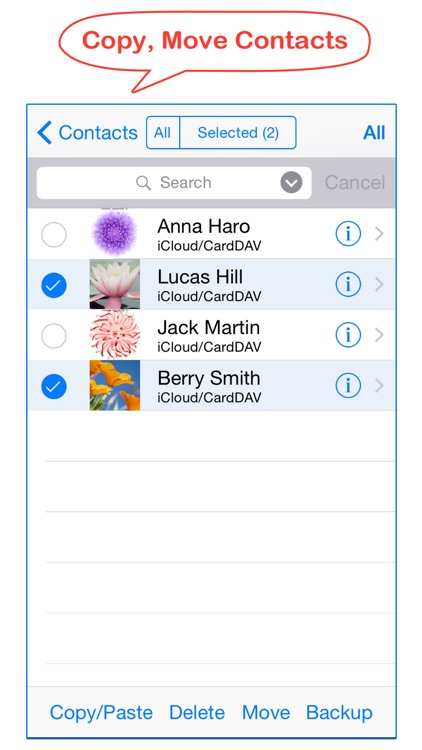 Cleaner - Smart delete merge duplicate contacts screenshot-3