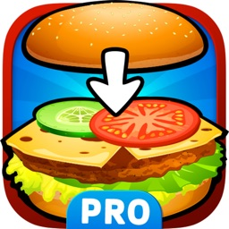 Burger Chef. Kitchen Game for Toddlers. Premium