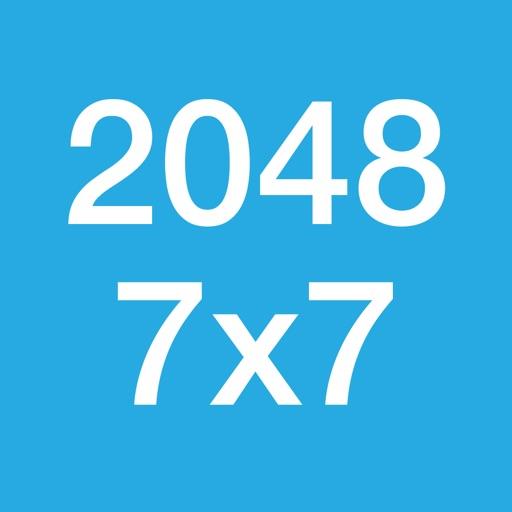 2048 (Version 7x7)