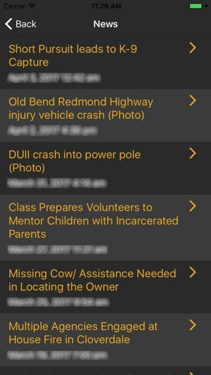 Deschutes County Sheriff's Office on the App Store