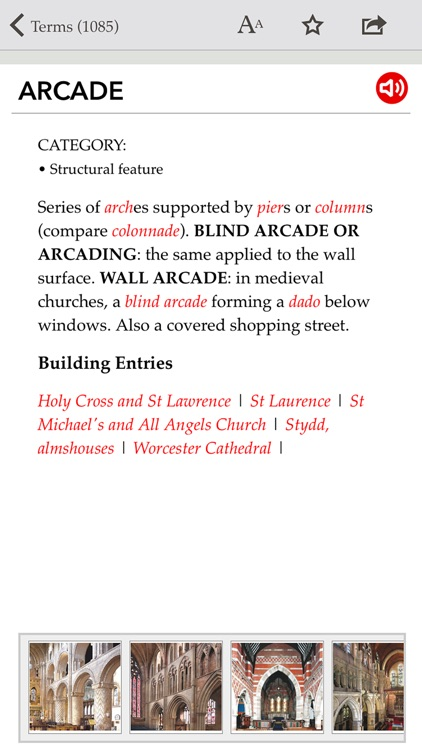 Pevsner's Architectural Glossary screenshot-1