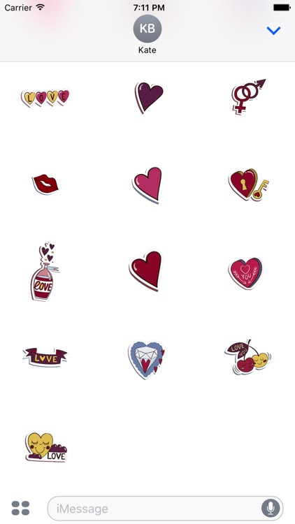 Animated Forever Love Stickers screenshot-3