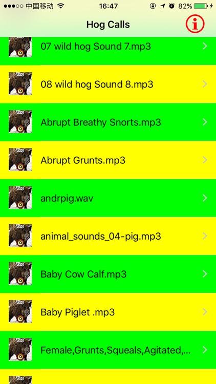 Real Hog Hunting Calls & Sounds screenshot-3