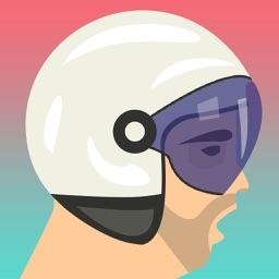 Happy Bike Wheels Racing
