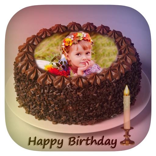 Birthday Cake Photo Frame Cake With Photo Name By Mitesh Varu