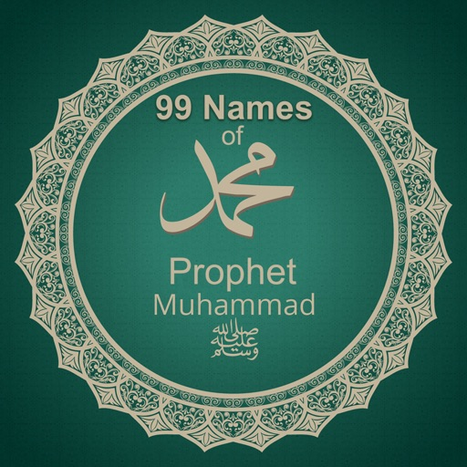 99 Names Of Prophet Muhammad SAW With Audio